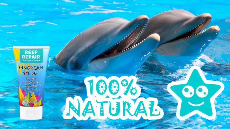 All Natural Coral Safe Sun Cream SPF 30+ - 50ml