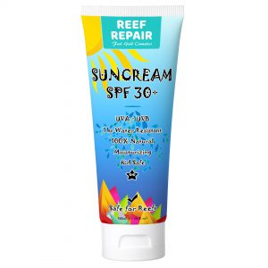 Reef Repair Sun Cream 120ml SPF 30+ Reef Safe Moisturising Kid Safe All Natural Sunscreen