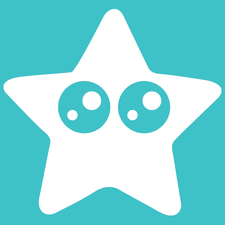 Reef Repair Star Fish Logo White