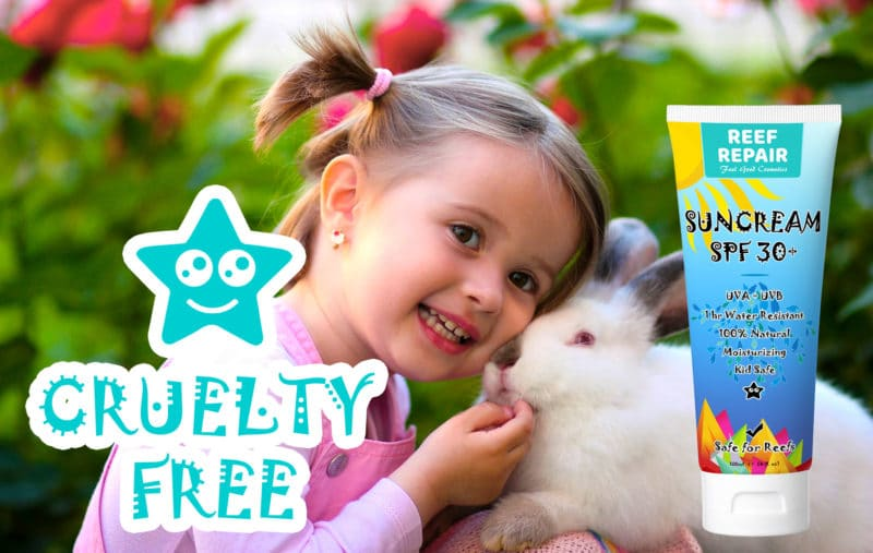 Cruelty Free Coral Safe Sunscreen For Kids SPF 30+