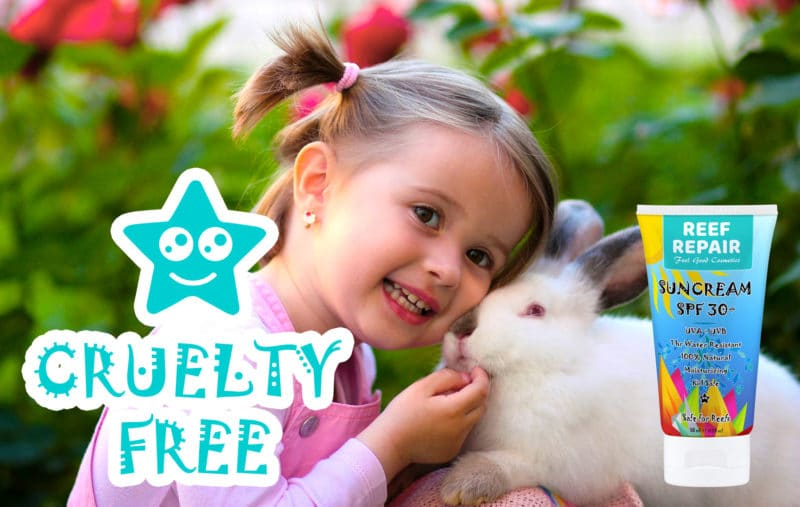 Cruelty Free Reef Safe Sun Cream For Kids SPF 30 Sunscreen 50ml