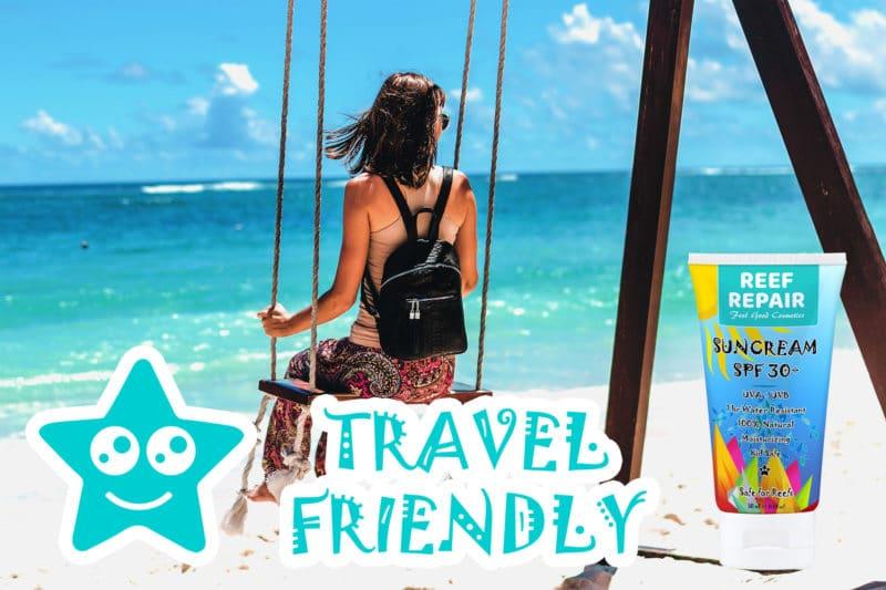 Travel Friendly TSA Compliant Reef Safe Sun Cream - 50ml