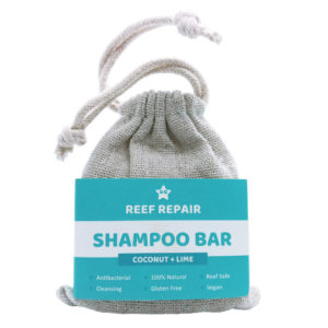 Reef Safe Shampoo Bar, Coconut & Lime – 50g