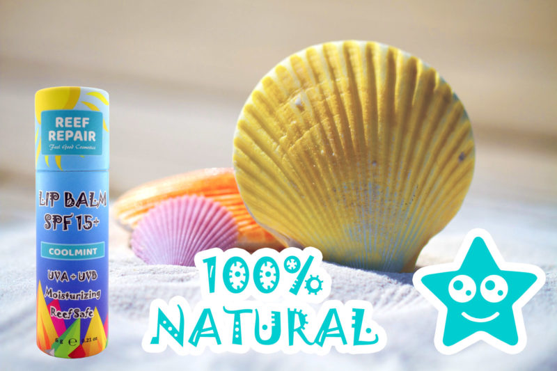 All Natural Reef Safe Lip Balm by Reef Repair Lip Care