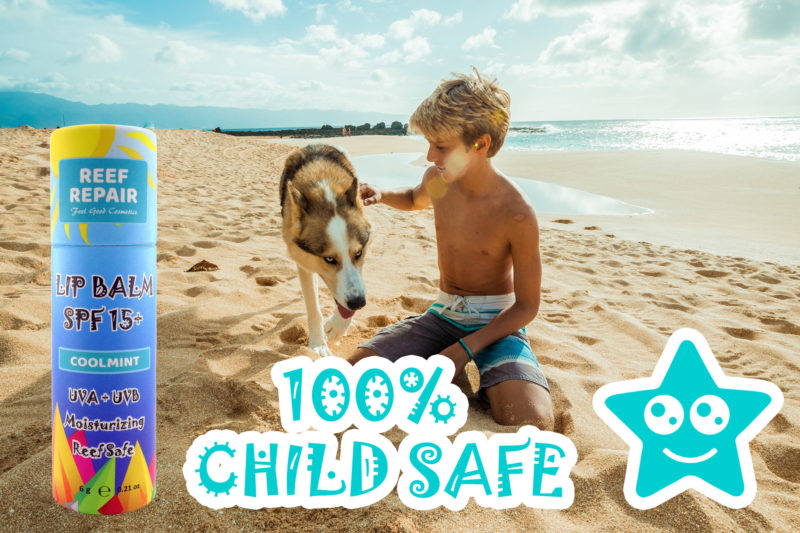 Child Safe Reef Safe Lip Balm Reef Repair Lip Care