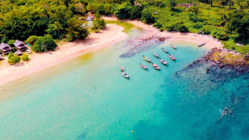 Pristine Beaches on Koh Tao Island Thailand