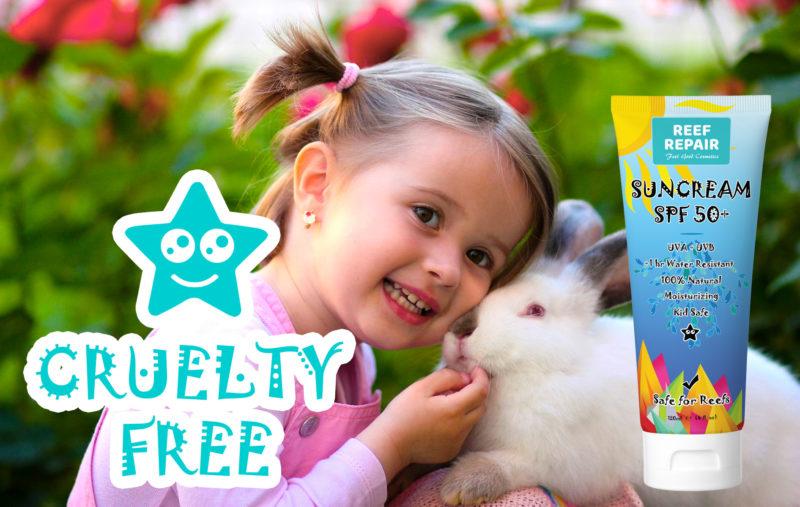 Cruelty Free Reef Safe Sun Cream For Kids Spf 50 By Reef Repair Sun Care 120ml