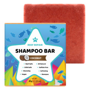 Reef Safe Shampoo Bar, Coconut – 85g