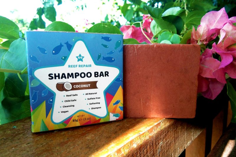 Reef Safe Shampoo Bar 85g Coconut Scented Cleansing Kid Safe All Natural Vegan Paraben Free Shampoo