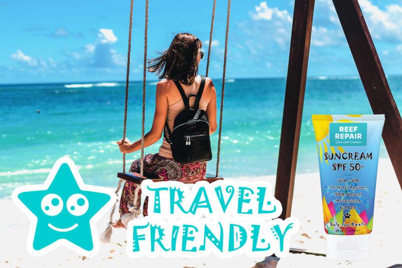 Travel Friendly Tsa Compliant Reef Safe Sunscreen By Reef Repair Sun Care 50ml