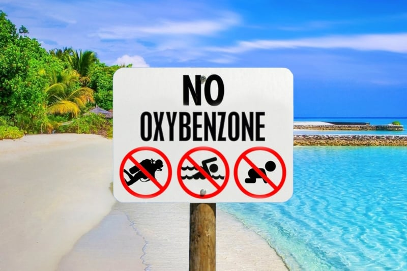Oxybenzone danger to humans and marine life