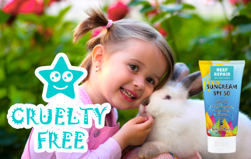 Cruelty Free Reef Safe Sunscreen For Kids SPF 50 By Reef Repair Sun Care 50ml